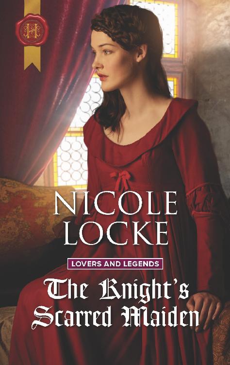 Knight's Scarred Maiden, The - Nicole Locke