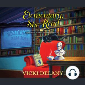 elementary she read vicki delany